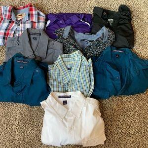Men's S/M collared shirt lot!
